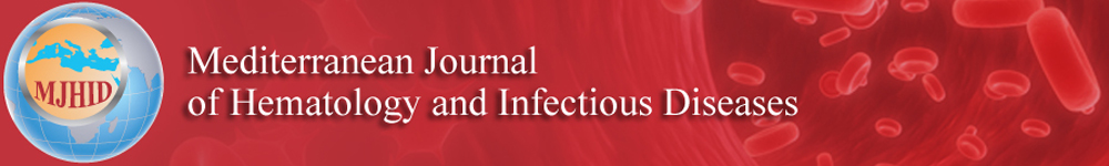 Banner of the Mediterranean Journal of Hematology and Infectious Diseases